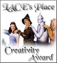 Lace's Place Creativity Award