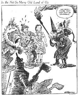 1939 Oz political cartoon